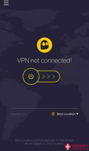 CyberGhost VPN til iPhone og iOS